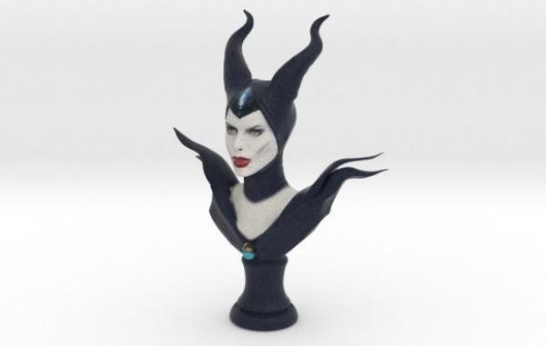 3D打印人物模型之沉睡魔咒玛琳菲森