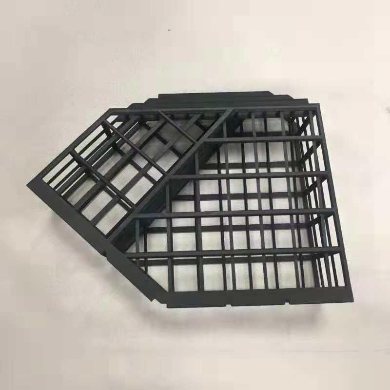 黑色尼龙3D打印手板模型