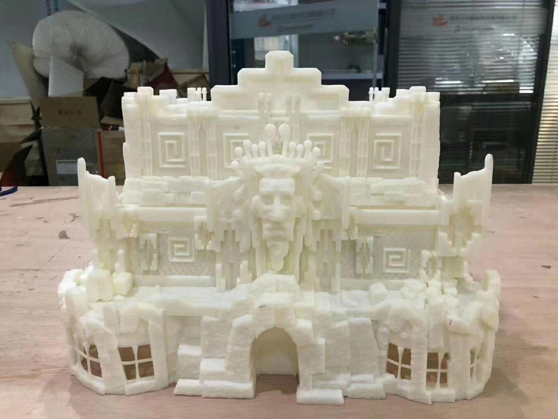 3D打印建筑城堡模型