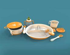 儿童餐具手板模型加工